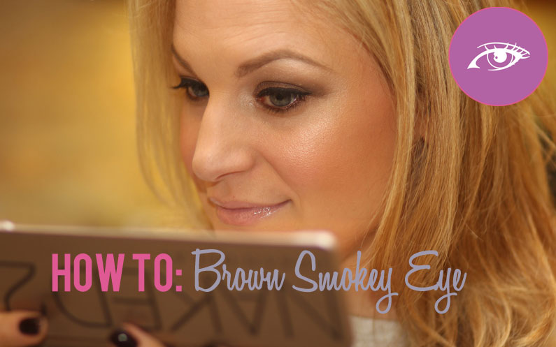 How To: Brown Smokey Eye